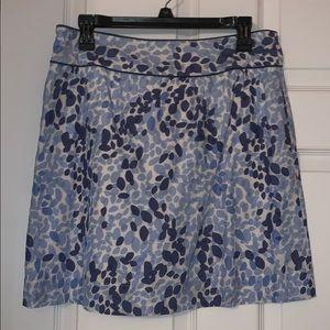 Blue and white Vineyard Vines skirt